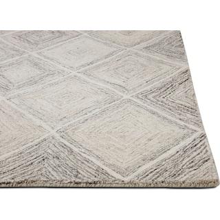 Everest Area Rug - Ivory/Gray