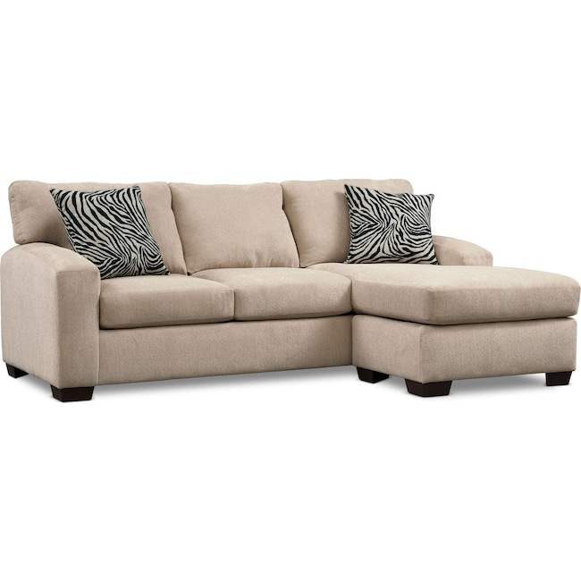 Living Room Furniture - Nala Chaise Sofa