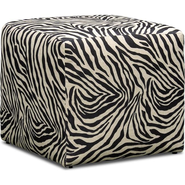 Living Room Furniture - Nala Cube Ottoman