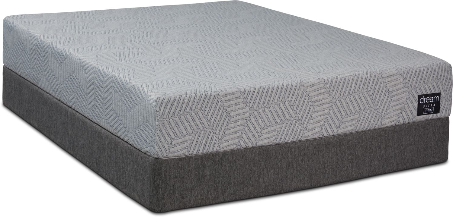 Mattresses and Bedding - Dream-In-A-Box Ultra Firm King Mattress and Split Foundation