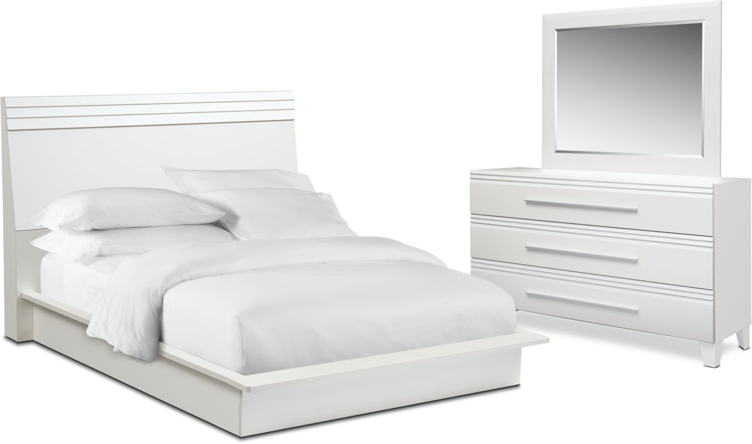 Bedroom Furniture - Allori 5-Piece Bedroom Set