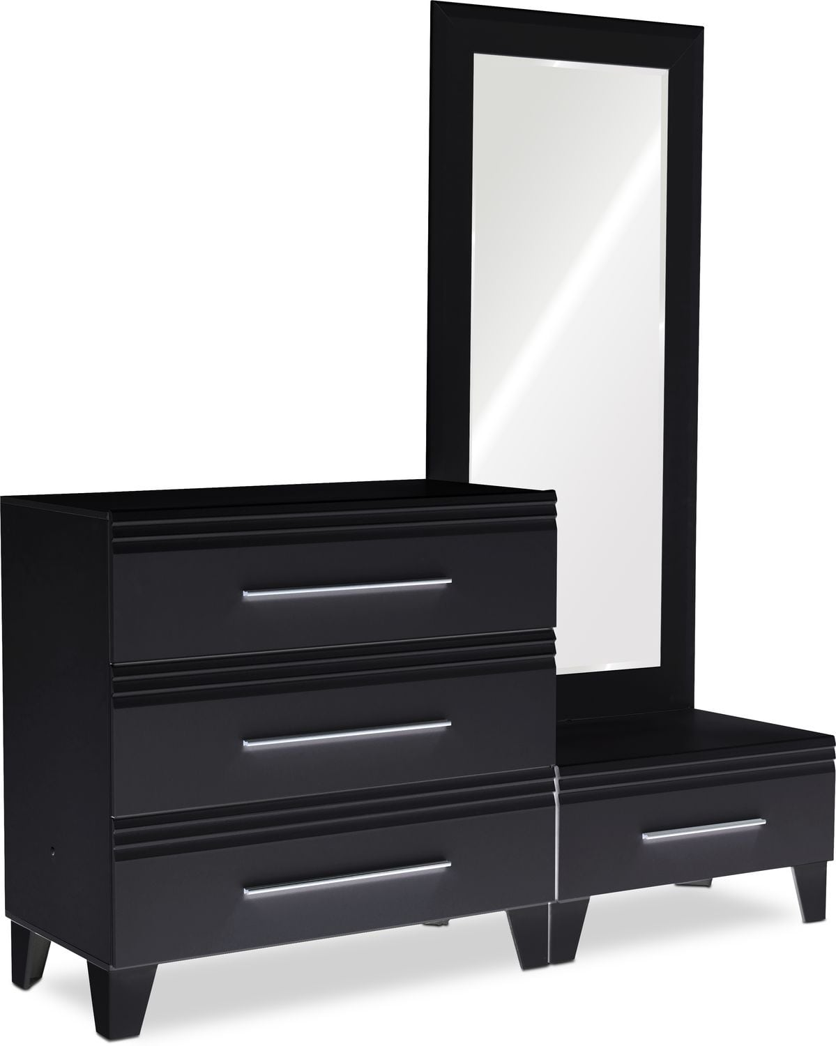 Bedroom Furniture - Allori Chest and Dressing Mirror