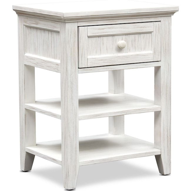 Kids Furniture - Sidney Nightstand - White