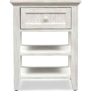 Sidney Nightstand - White