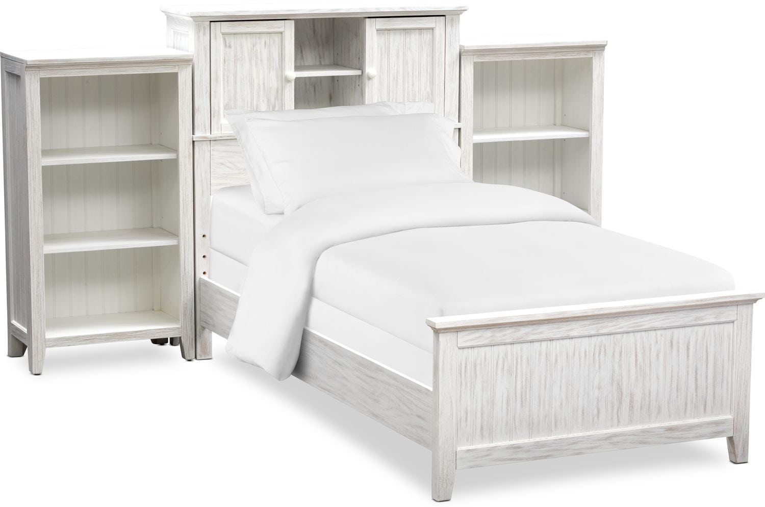 Kids Furniture - Sidney Bookcase Bed and 2 Bookcases