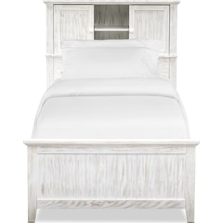 Sidney Bookcase Storage Bed