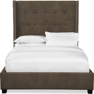 "Carter 68"" Upholstered Shelter Bed"