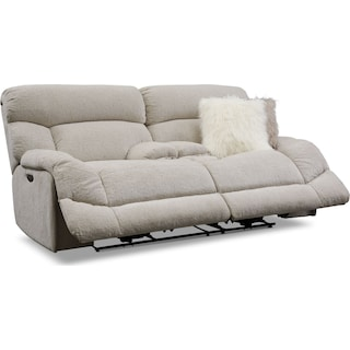Wave Dual-Power Reclining Loveseat