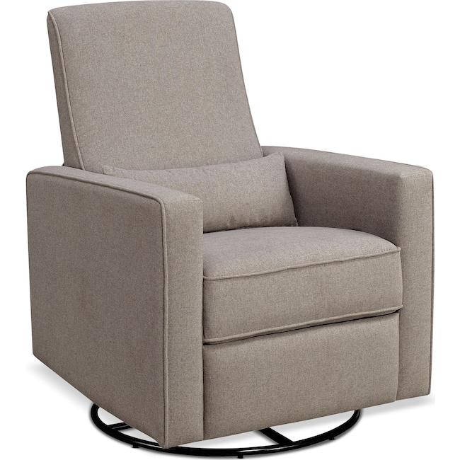 Living Room Furniture - Clara Manual Reclining Swivel Chair