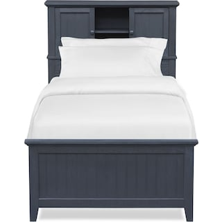 Sidney Bookcase Bed with Storage