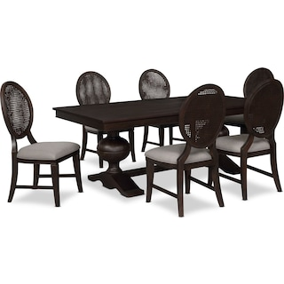 Wilder Rectangular Dining Table and 6 Side Chairs