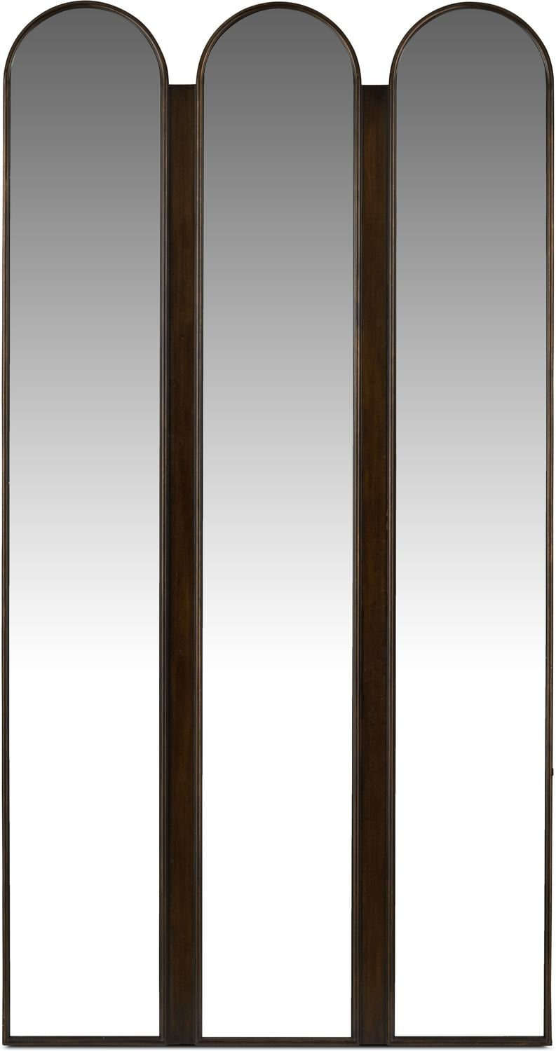 Home Accessories - Tri-panel Floor Mirror