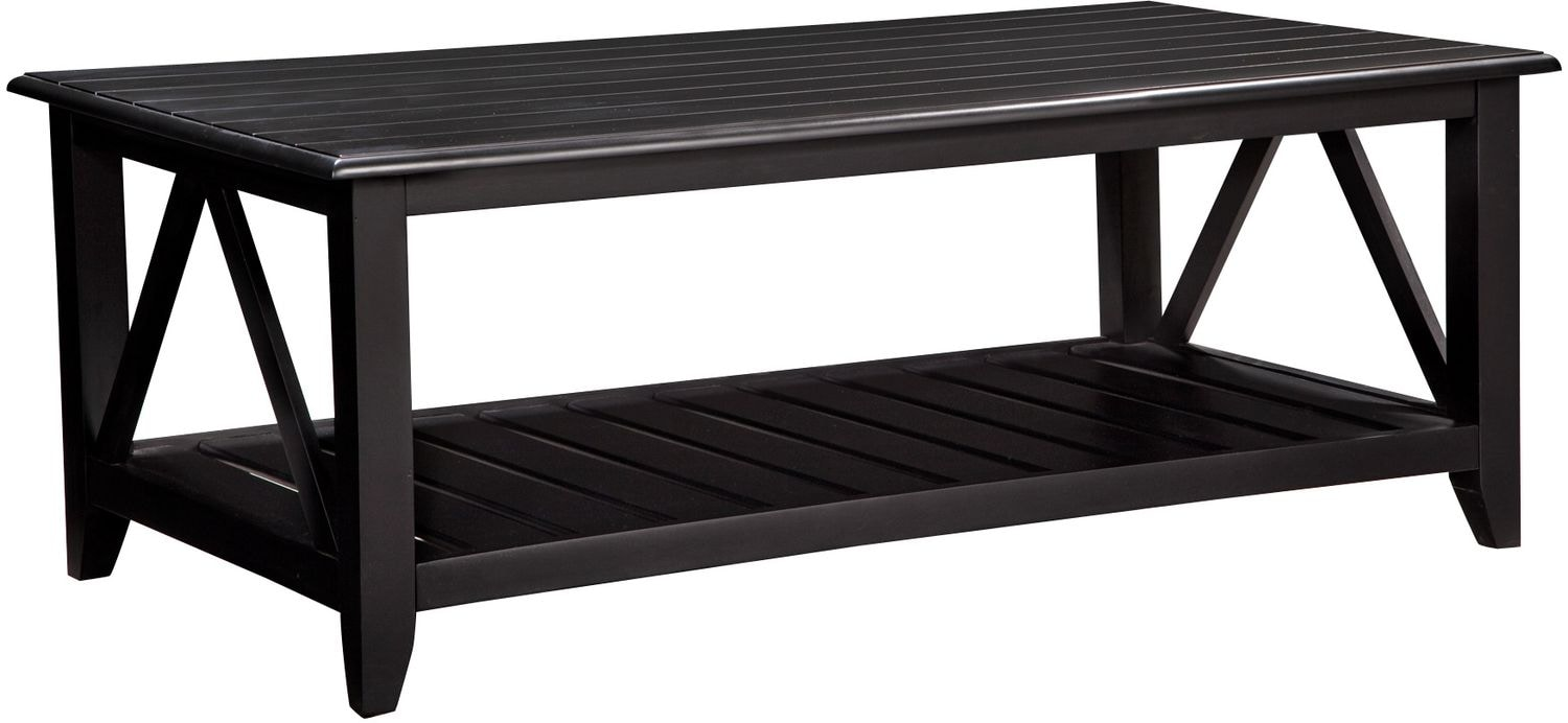 Accent and Occasional Furniture - Plantation Coastal Coffee Table