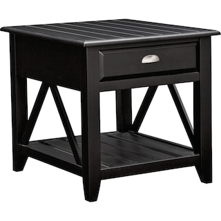 Plantation Coastal End Table