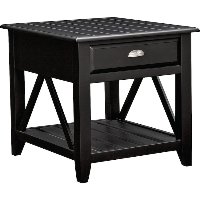 Accent and Occasional Furniture - Plantation Coastal End Table