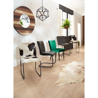 Avalon Channel Tufted Counter Stool