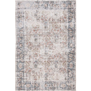 Rose 5' x 8' Area Rug - Gray and Beige