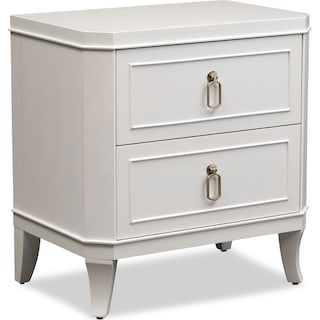 Isabel Nightstand - Alabaster