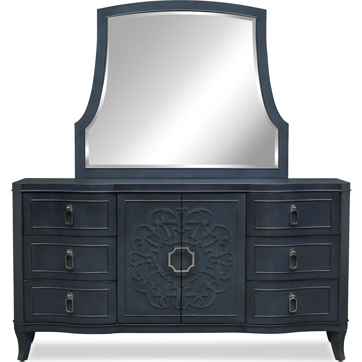 Isabel 6 Piece Bedroom Set With Nightstand Dresser And