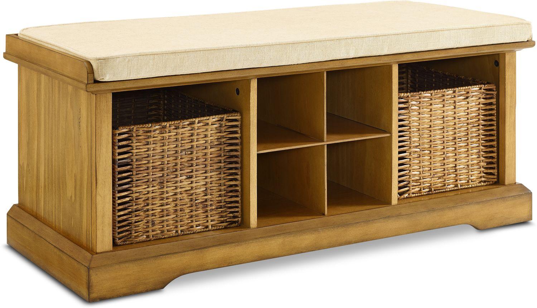 Hall_Entrance Furniture - Levi Entryway Storage Bench