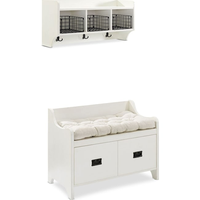 Hall_Entrance Furniture - Landon 2-Piece Entryway Set