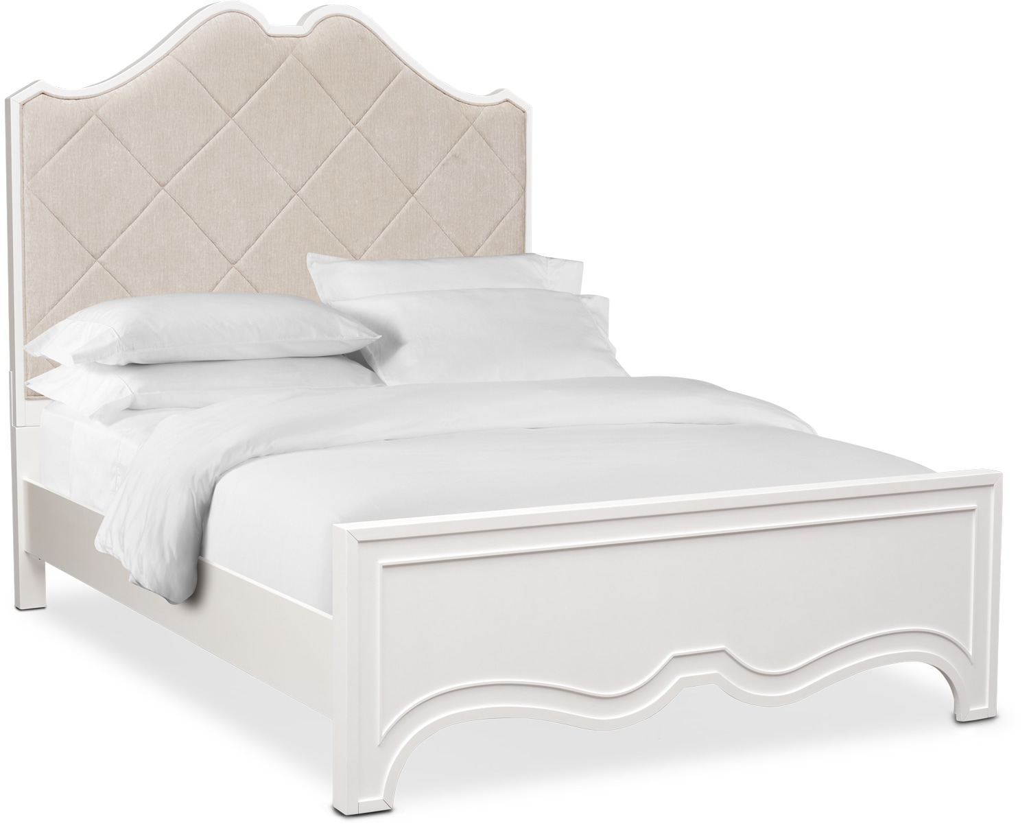Bedroom Furniture - Isabel Upholstered Bed
