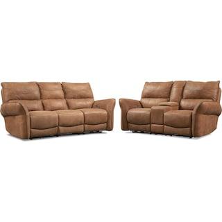 Aspen 2-Piece Sofa and Loveseat