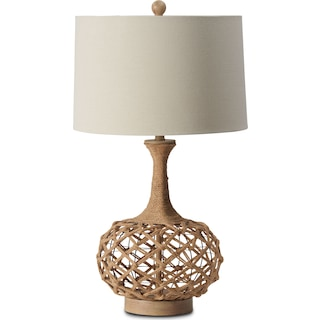 Myla Hemp Table Lamp