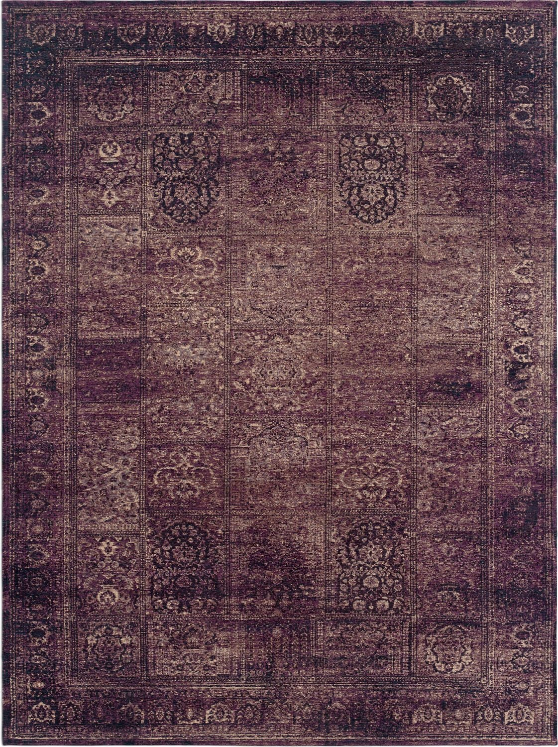 Flat Woven Area Rug Purple American Signature Furniture