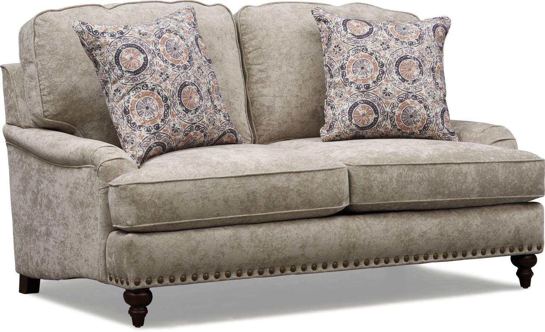 Living Room Furniture - London Loveseat
