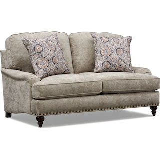 London Loveseat - Gray