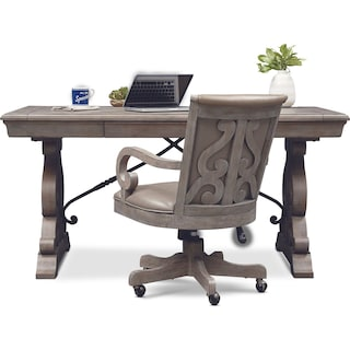 Charthouse Office Desk and Chair Set