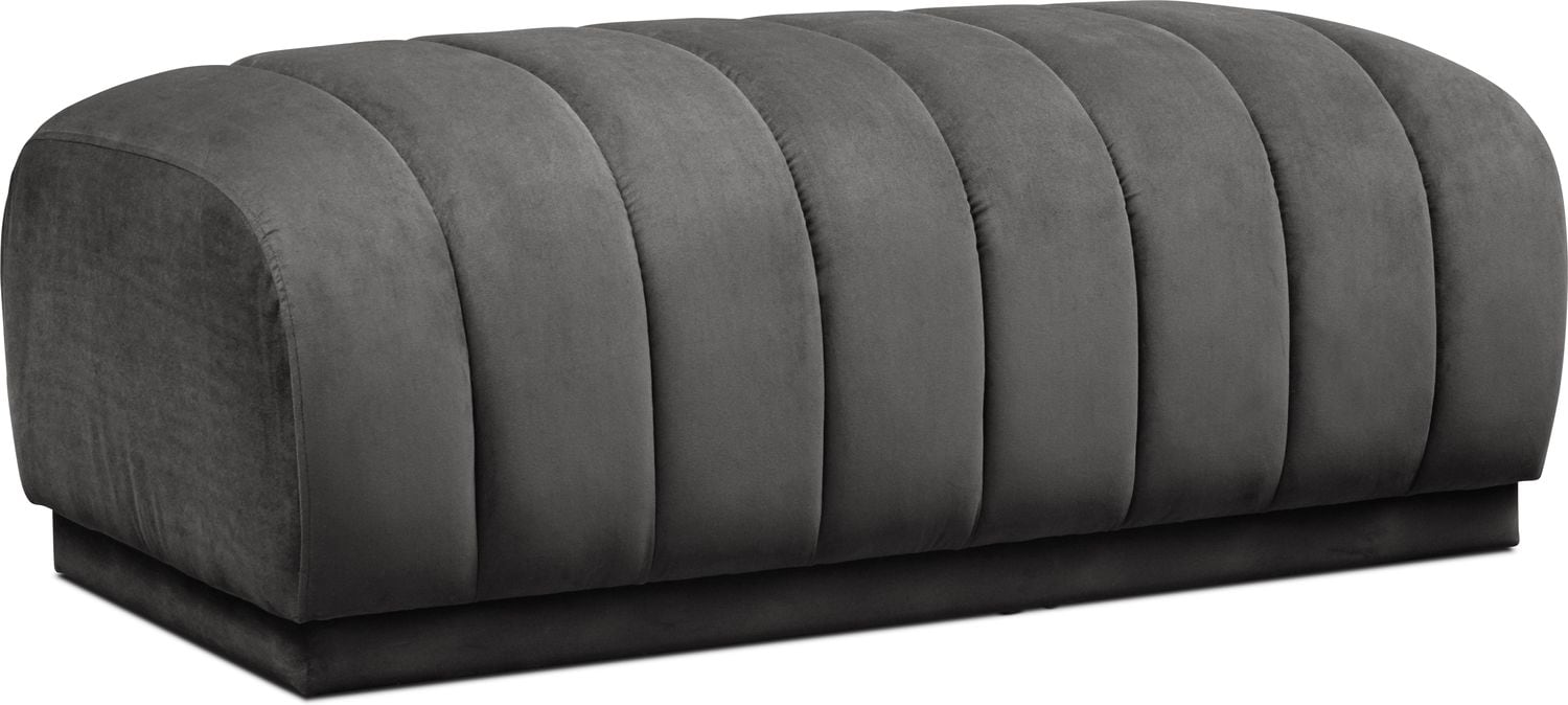 Living Room Furniture - Primm Ottoman