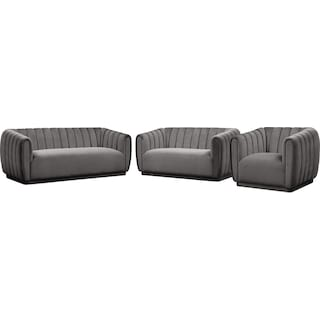 Primm Sofa, Loveseat and Chair