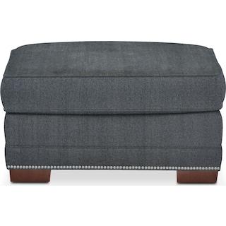 Arden Comfort Ottoman - Synergy Flannel
