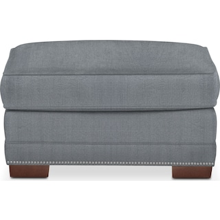 Arden Comfort Ottoman - Synergy Pewter