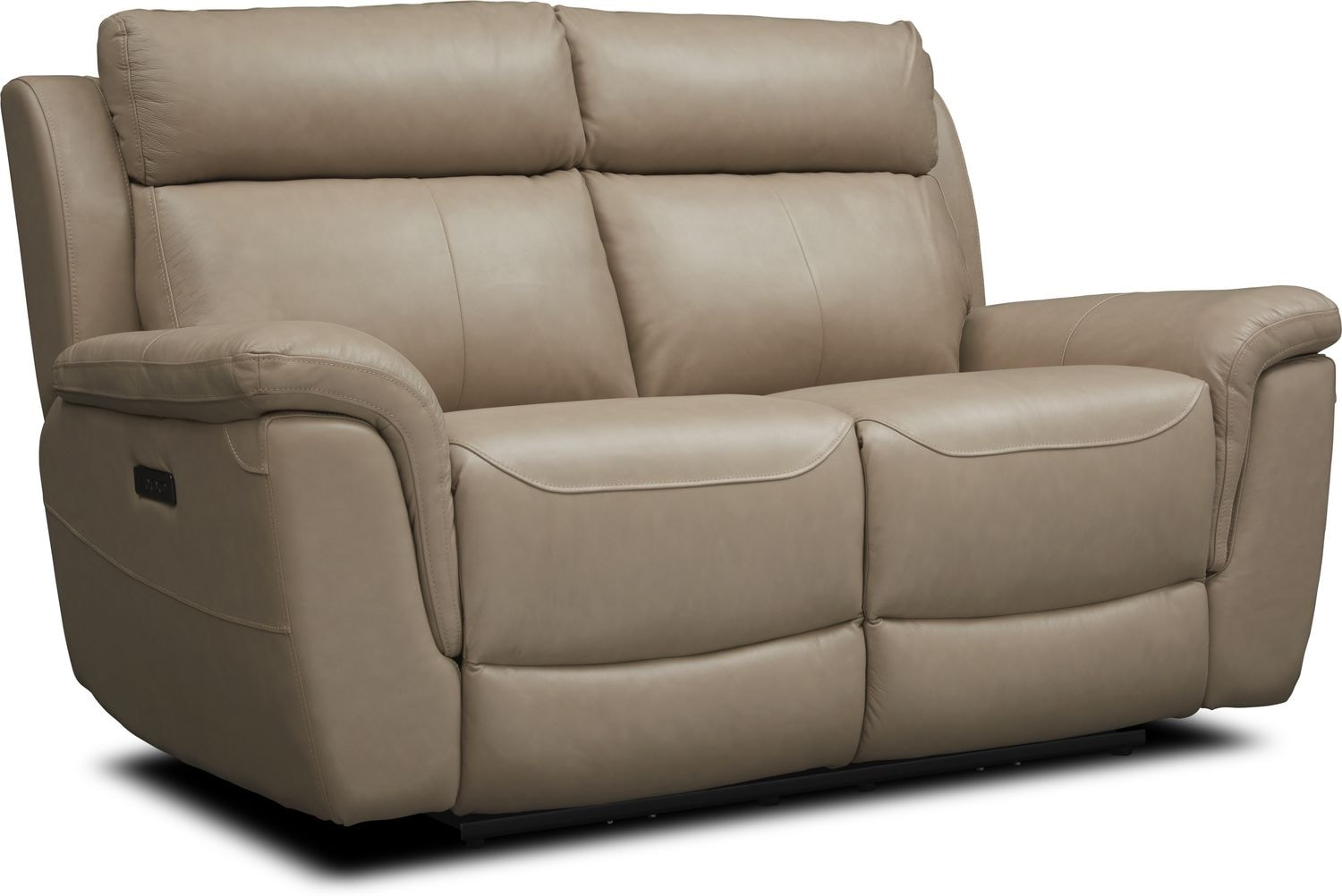 Living Room Furniture - Brooklyn Dual-Power Reclining Loveseat