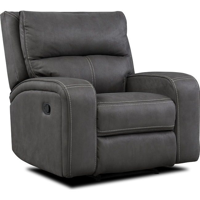Living Room Furniture - Burke Manual Recliner