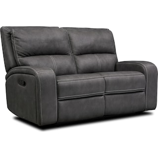 Burke Manual Reclining Loveseat