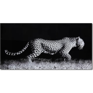 Fearless Leopard Wall Art 1
