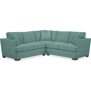 Arden Cumulus 2 Piece Sectional with Right-Facing Loveseat - Toscana Spa
