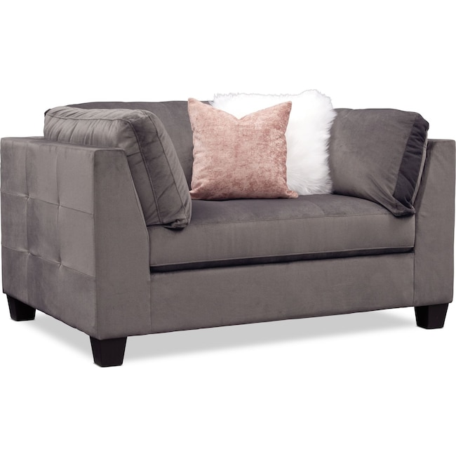 Living Room Furniture - Mackenzie Chair - Gray