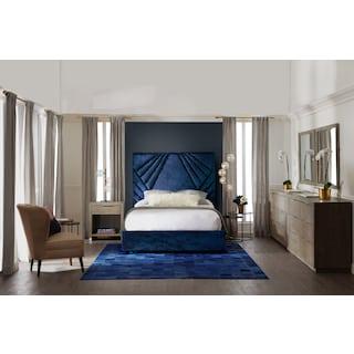Kiera Upholstered Gem Bed