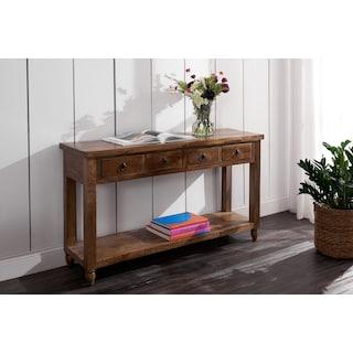 Ellis Sofa Table - Natural