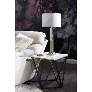 Emma Marble End Table