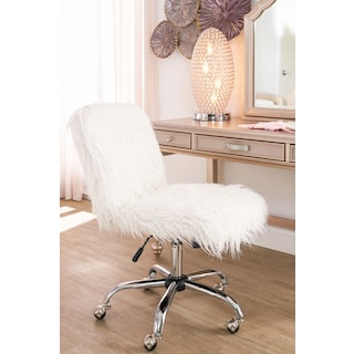 Frenzy Office Chair - White