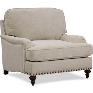 London Chair with Ottoman