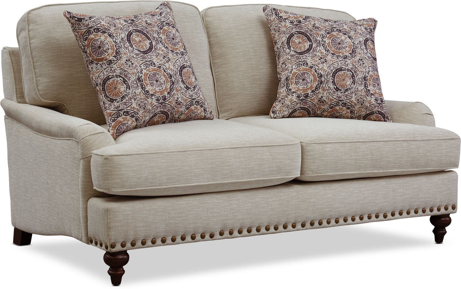 Living Room Furniture - London Loveseat