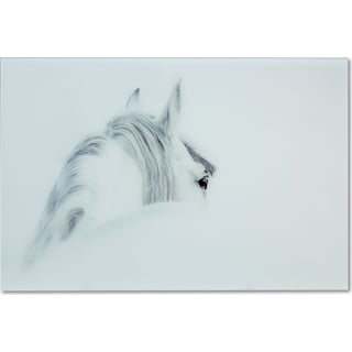 Blanco Mane Horse Wall Art