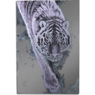 Silver Tiger Wall Art